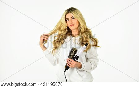 Online Shop. Useful Curling Iron Tricks Everyone Should Know. Create Hairstyle With Curling Iron. Wo