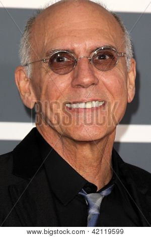 LOS ANGELES - FEB 10:  Larry Carlton arrives at the 55th Annual Grammy Awards at the Staples Center on February 10, 2013 in Los Angeles, CA
