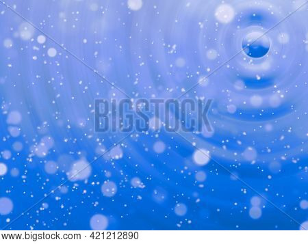 Abstract background in blue tone
