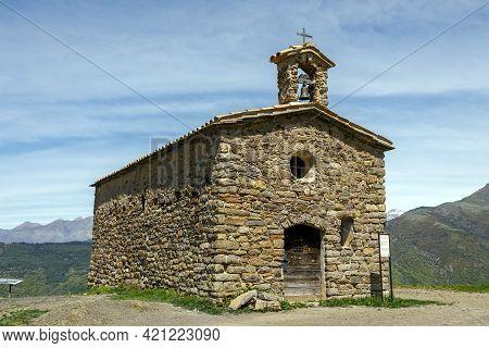 Hermitage And Viewpoint San Salvador De Irgo De Tor, A Town Sanctuary Belonging To The Municipality