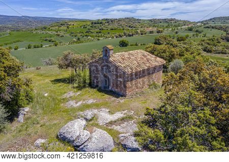 Hermitage Of San Martin, Also Called San Gregorio That Is Located In Aler Is A Spanish Town Belongin