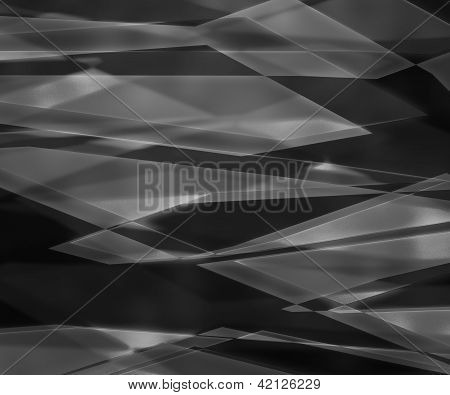 Dark Sharp Glass Texture