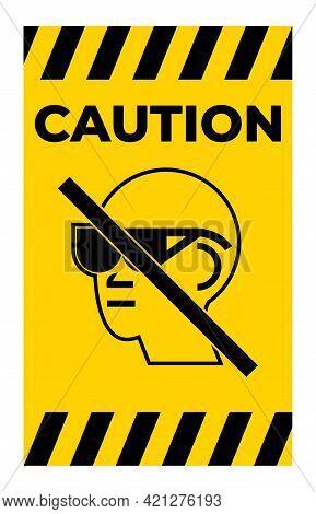 Symbol Please Remove Take Off Glasses Sign