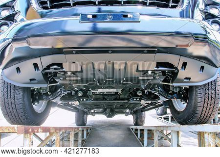 Bottom View Of All New Chassis Pickup Car.