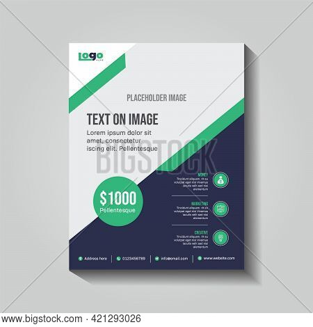 Corporate Flyer Design Ready To Print Easy To Resize And Edit
