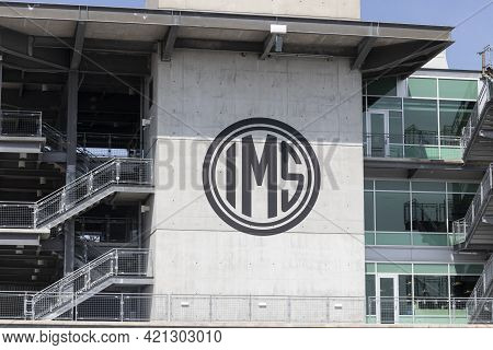 Indianapolis - Circa May 2021: Ims Media Center At Indianapolis Motor Speedway. Ims Is Preparing For