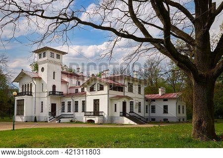 Prushany Park Estate. Pruzhany, Brest Region, Belarus.