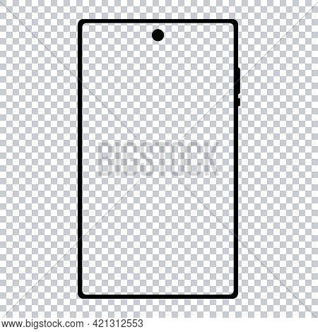 Realistic Phone Mockup. Smartphone Blank Screen, Phone Mockup. Template For Infographics Or Presenta