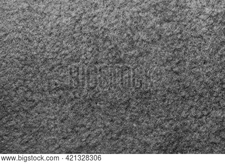 Wool. Felt. Fabric Background. Dark Material. Fabric For Sewing Clothes