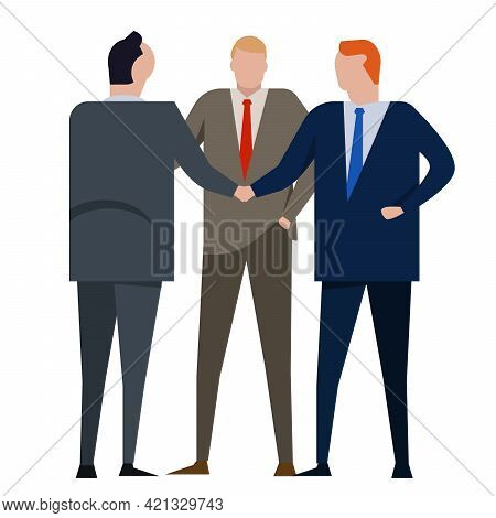 Conflict Resolution Reconciliation By Third Party As Intermediary Mediator Referee Solving Dispute M