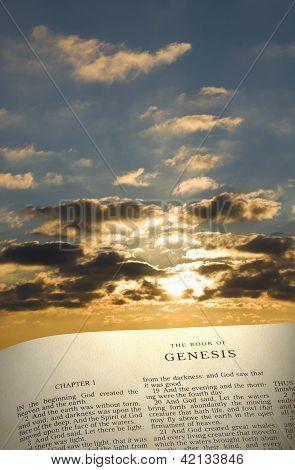 Genesis Book & Sky