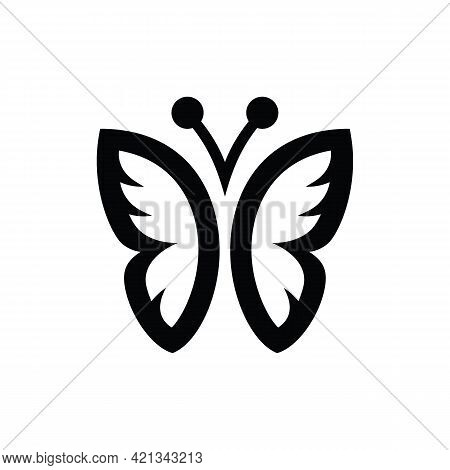 Butterfly Icon Isolated On White Background From Landscaping Equipment Collection. Butterfly Icon Th