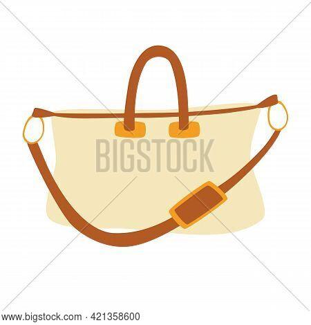 Stylish Travel Bag. Classic Stylish Leather Handle Bag. Women's Fashion Bag. Backpack, Travel Luggag