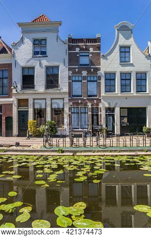 Traditional Gables On Houses In The Center Of Gouda, Netherlands