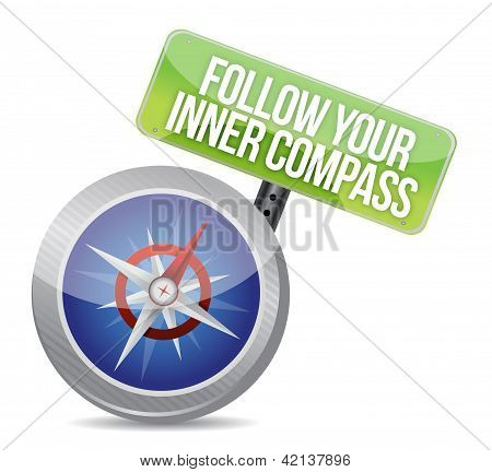 Follow Your Inner Compass Success Road