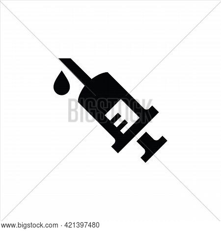 Injection Icon Isolated On White Background From Coronavirus Collection. Injection Icon Trendy And M