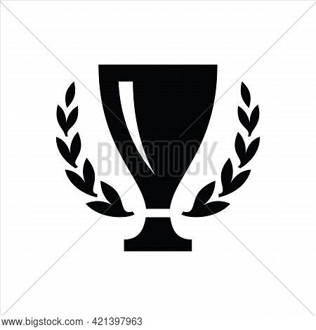 Trophy Icon Isolated On White Background. Trendy Trophy Icons And Modern Trophy Symbols For Logos, W