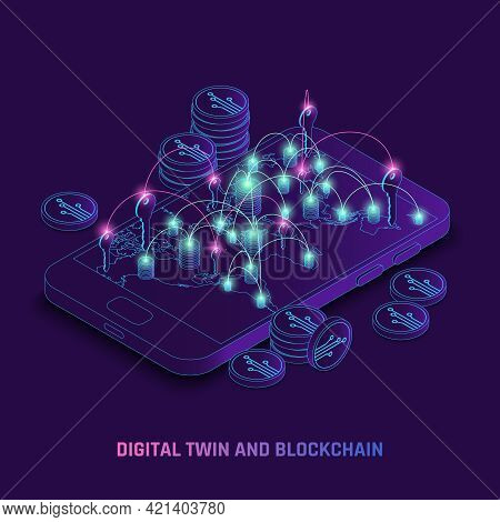 Blockchain Utilizing Using Digital Twins Dynamic Technology Identity Traces Transactions Tracking On