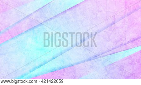 Grunge retro cyan and pink abstract corporate background