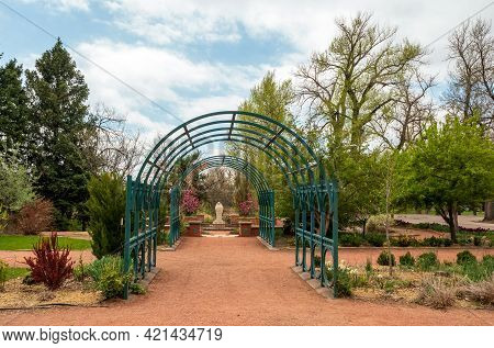Beautiful Spring Landscape In Monument Valley Park, Colorado Spring, Colorado