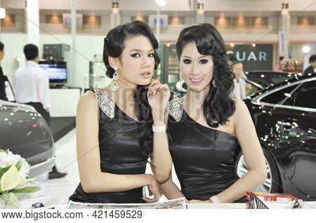 Bangkok-mar 29 Pretty At The32th Bangkok International Motor Show 2011 On Mar 29 , 2011 In Bangkok,