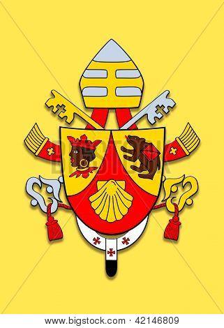 Coat Of Arms Benedicto Xvi.