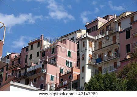 Manarola - one of the cities of Cinque Terre in italy