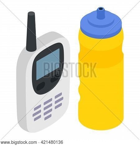 Sport Accessory Icon. Isometric Illustration Of Sport Accessory Vector Icon For Web