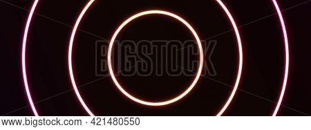 Red background. Neon background design. Neon background template . modern Neon background . Neon background gradation . Neon background images . abstract background with Neon color . background design using smooth gradient . vector illustration