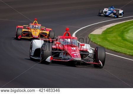 May 20, 2021 - Indianapolis, Indiana, USA: MARCUS ERICSSON (8) of Kumla, Sweden practices for the 105th Running Of The Indianapolis 500 at the Indianapolis Motor Speedway in Indianapolis, Indiana.