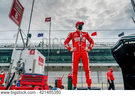 May 19, 2021 - Indianapolis, Indiana, USA: MARCUS ERICSSON (8) of Kumla, Sweden prepares to practice for the 105th Running of The Indianapolis 500 at the Indianapolis Motor Speedway