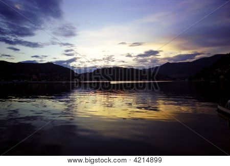 Sunset Of Como