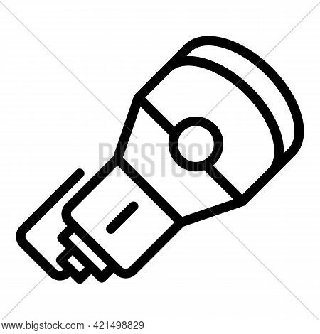 Ultrasound Technology Icon. Outline Ultrasound Technology Vector Icon For Web Design Isolated On Whi