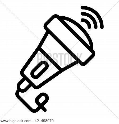 Medical Ultrasound Diagnostic Icon. Outline Medical Ultrasound Diagnostic Vector Icon For Web Design