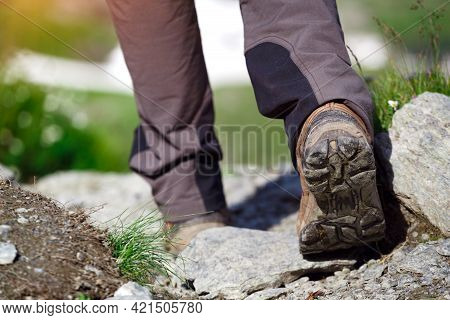 A Hiking Boots