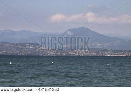 Panorama Nature Sirmione Garda Lake Italy Panorama Nature Sirmione Garda Lake Italy