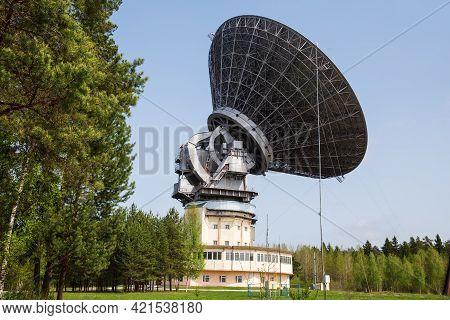 Radio Telescope Rt-64 (tna-1500) At Kalyazin Radio Astronomy Observatory, Tver Region, Russia