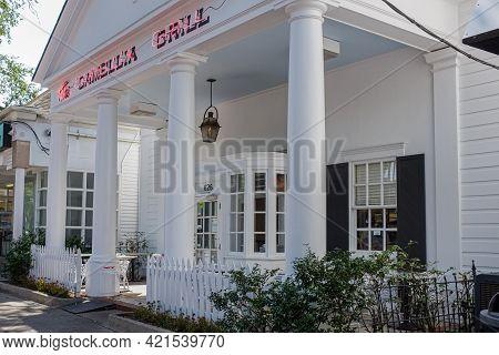 New Orleans, La - September 10: Camellia Grill Restaurant In Riverbend Neighborhood On September 10,