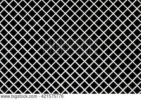 3D illustration white color square grid lines background (This photo was taken with camera)