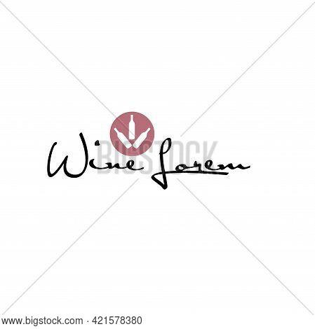 Illustration Vector Graphic Of Wine Cellar Logo