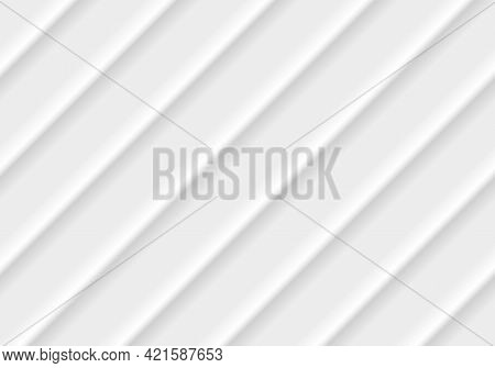 Abstract Modern Stripes Lines White And Gray Vector Background