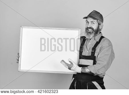 Electrician Plumber Handyman. Housekeeping Company. Repair Concept. Construction Worker. Fixing Tech