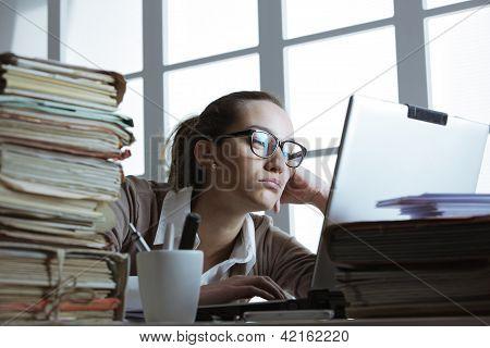 Frustated Businesswoman