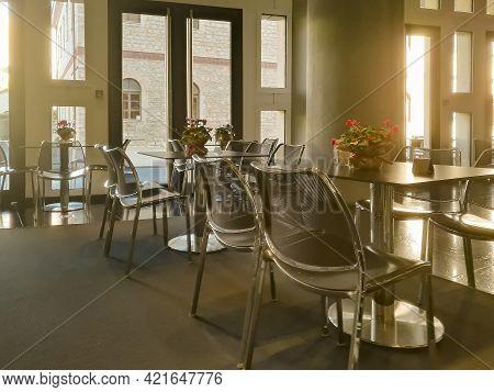Elegant Empty Restaurant, Athens Greece