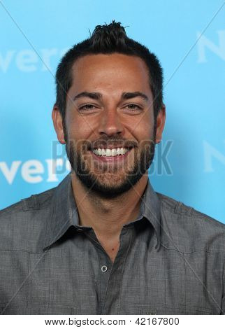 LOS ANGELES - JAN 06:  ZACHARY LEVI arriving to TCA Winter Press Tour 2012: NBC Party  on January 06, 2012 in Pasadena, CA