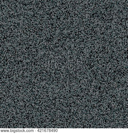 Dotted Halftone Vector Background. Dark Grunge Texture. Stipple Dot Backgrounds With White Circles