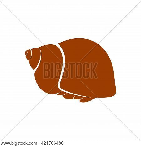 Hermit Crab Design Vector Illustration, Creative Hermit Crab Logo Design Concept Template, Symbols I