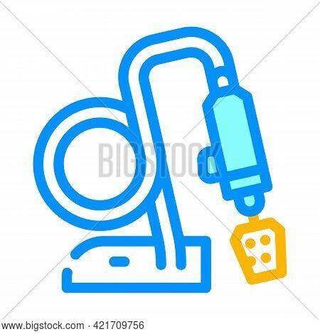 Polishing Gadget Color Icon Vector. Polishing Gadget Sign. Isolated Symbol Illustration