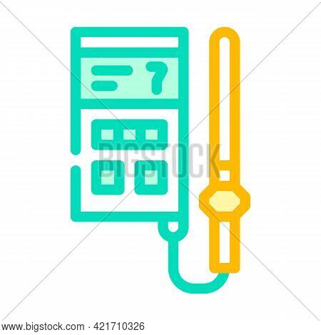 Soil Analyzer Device Color Icon Vector. Soil Analyzer Device Sign. Isolated Symbol Illustration