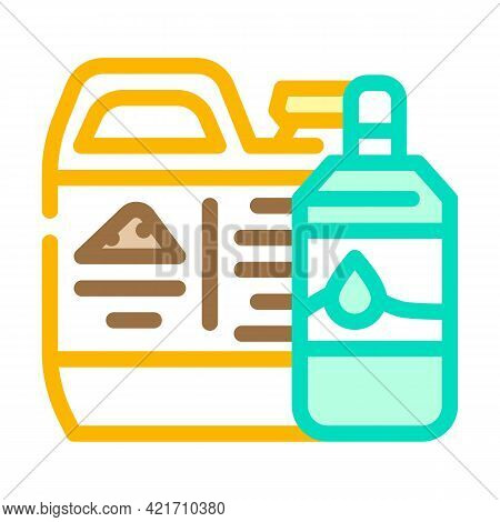 Odor Neutralizer Compost Color Icon Vector. Odor Neutralizer Compost Sign. Isolated Symbol Illustrat